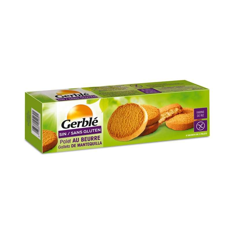 Biscuit palet sans gluten BIO, Gerblé (175 g)