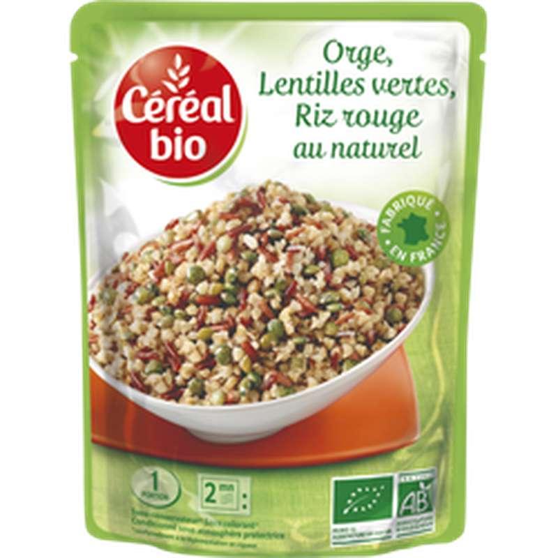 Doy orge riz rouge-lentilles vertes BIO, Céréal Bio (250 g)