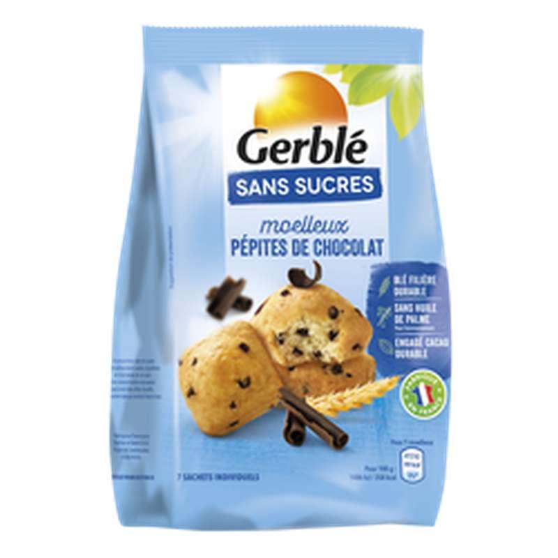 Moelleux aux pépites de chocolat sans sucres, Gerblé (196 g)
