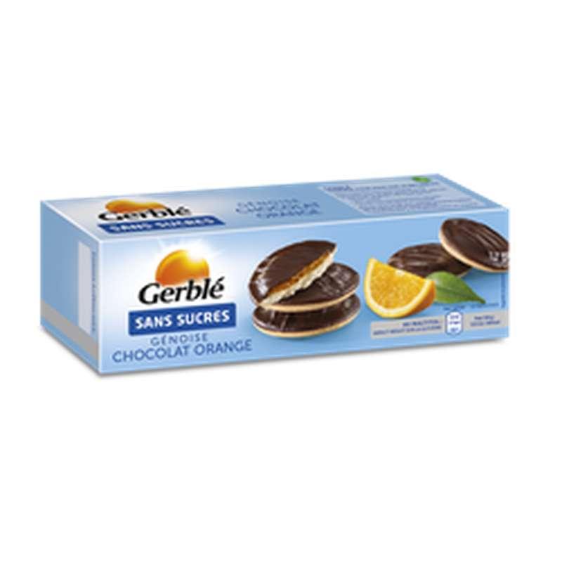 Génoise chocolat orange sans sucres, Gerblé (140 g)