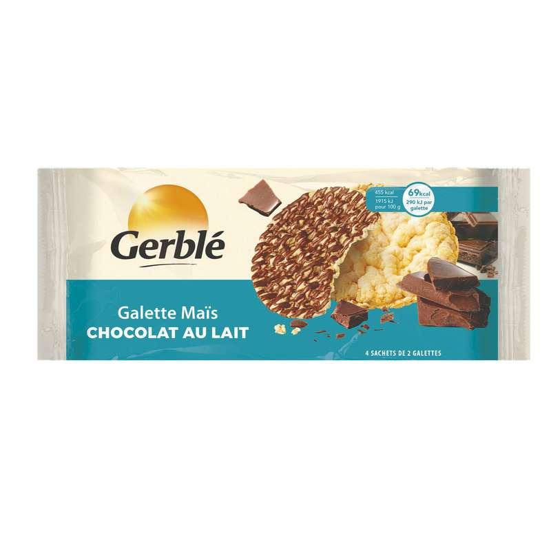 Galette maïs chocolat lait, Gerblé (124 g)
