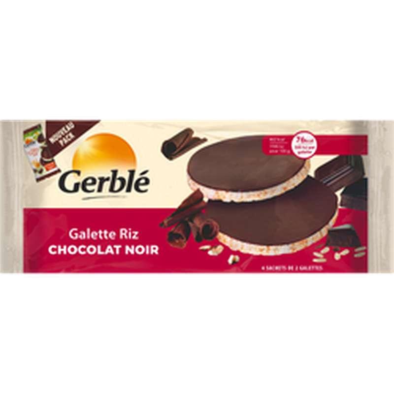 Galette de riz chocolat noir, Gerblé (130 g)