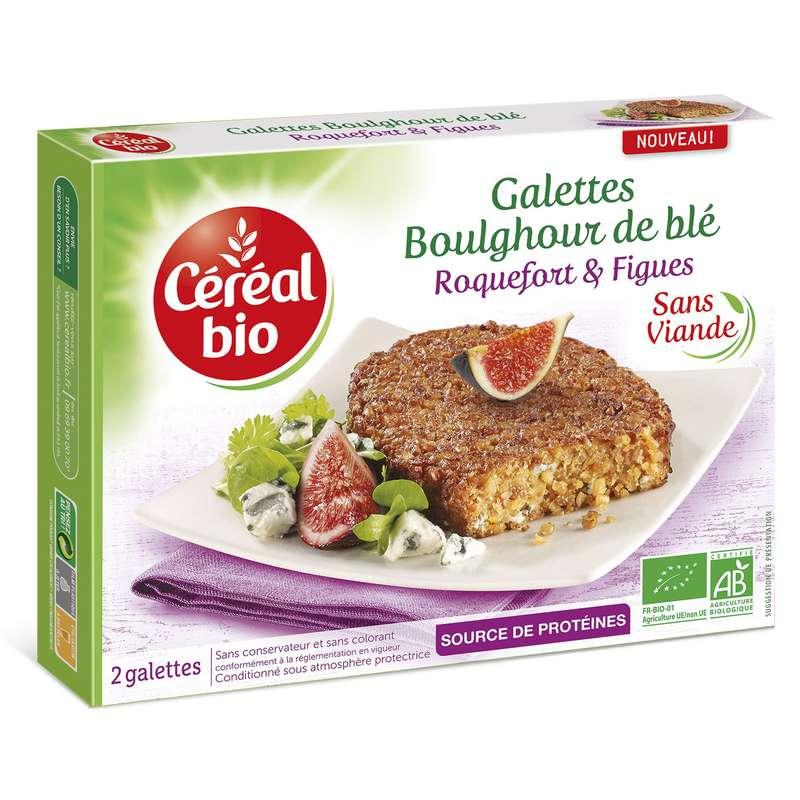 Galettes roquefort et figues, Céréal Bio (200 g)