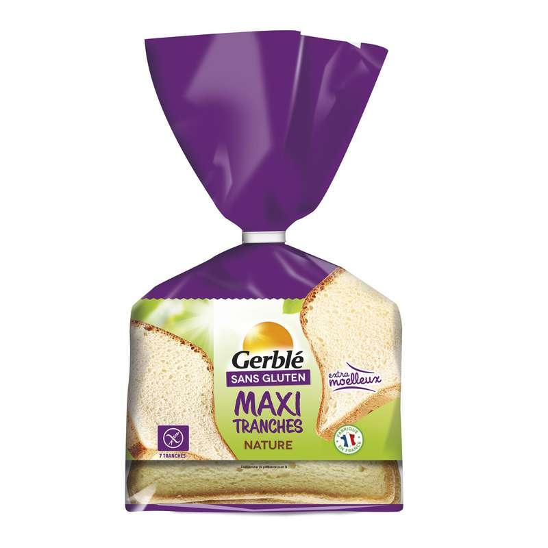 Pain moelleux sans gluten, Gerblé (350 g)