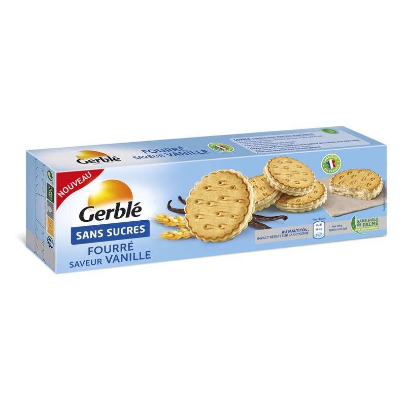 Gateaux vanille sans sucres, Gerblé (185 g)