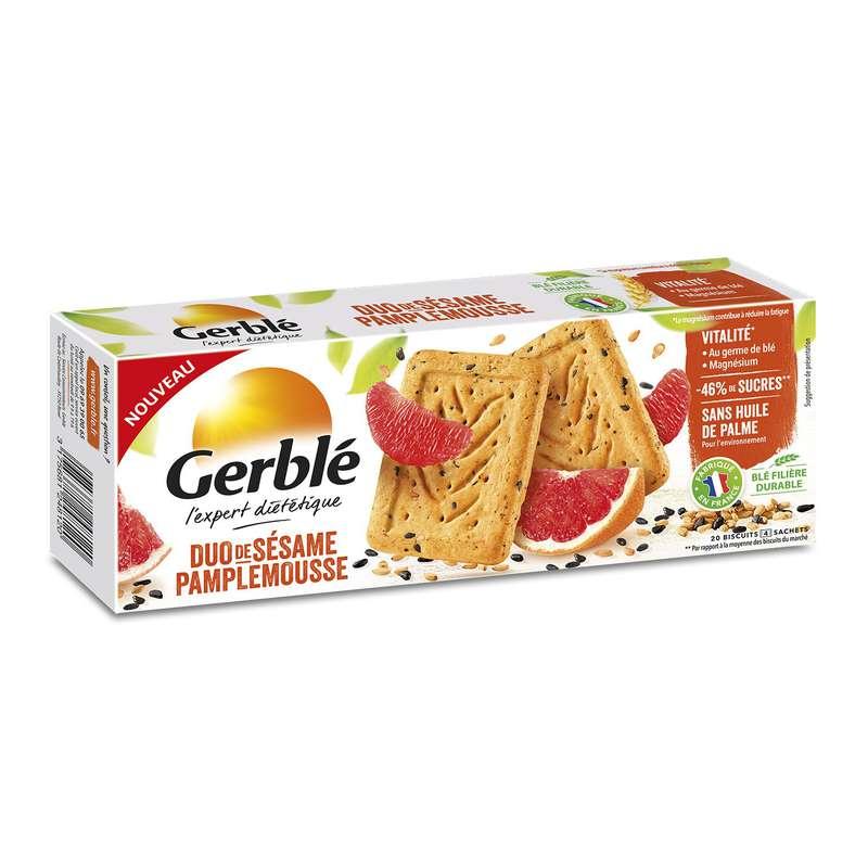 Biscuit sésame pamplemousse, Gerblé (200 g)