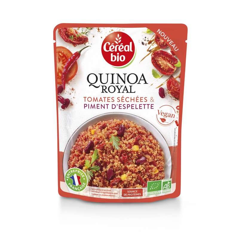 Quinoa royal tomates séchées piment d'espelette BIO, Céréal Bio (220 g)