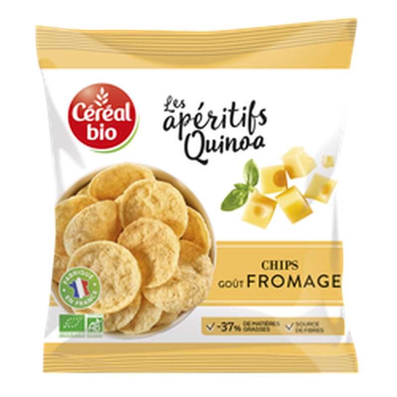 Chips Quinoa Fromage BIO, Céréal bio (65 g)