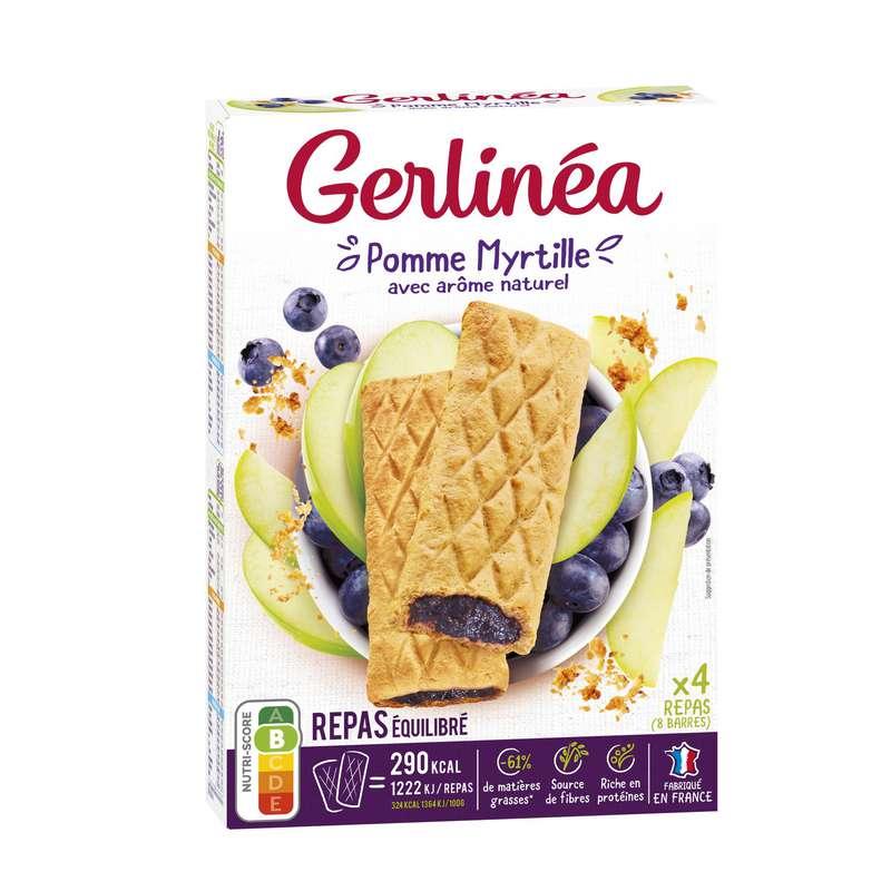 Barres pommes myrtilles, Gerlinea (360 g)