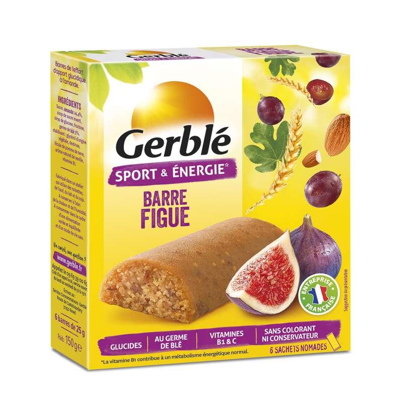 Barres diététiques figue, Gerblé (150 g)