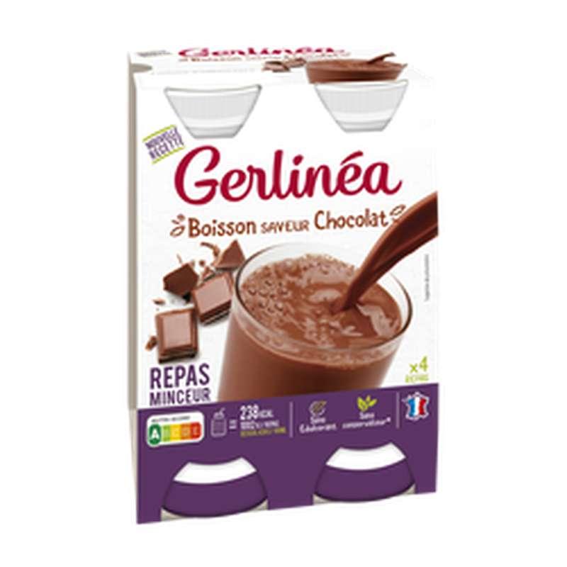 Repas minceur à boire goût chocolat, Gerlinea (236 ml)