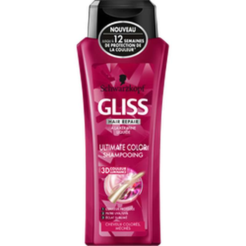 Shampoing ultimate Color, Gliss (250 ml)