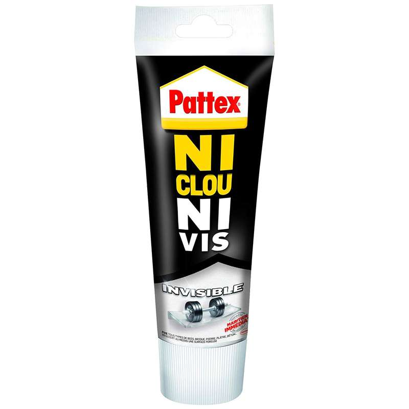 Colle de fixation invisible Ni Clou Ni Vis, Pattex (200 g)
