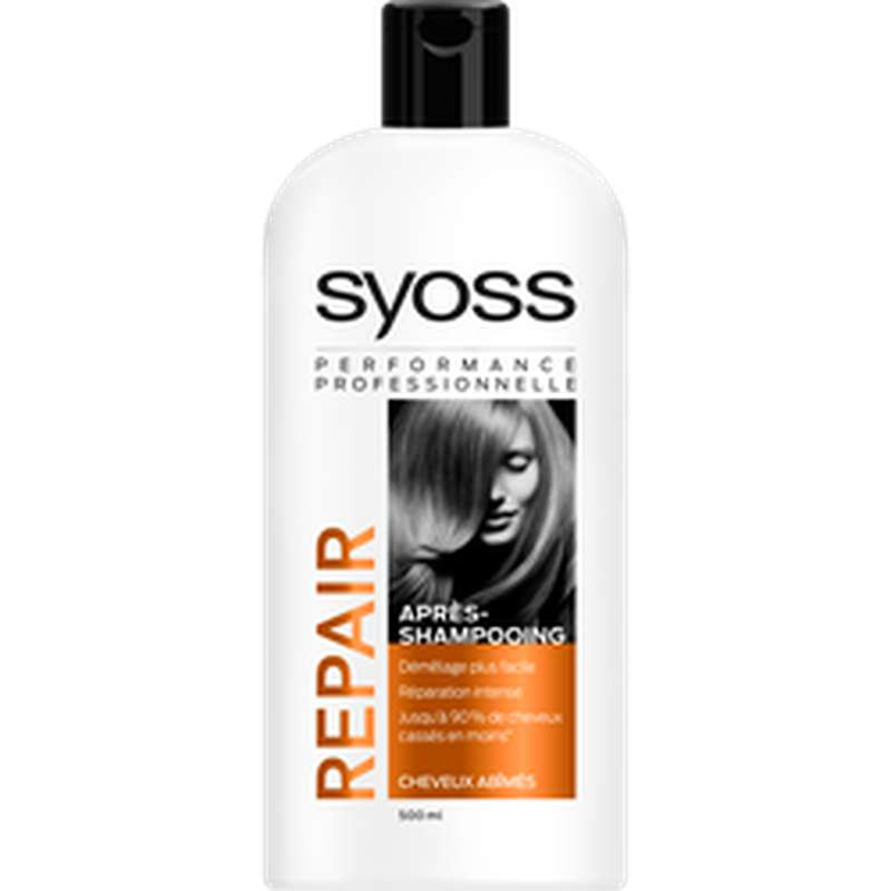 Après-shampoing repaire expert, Syoss (500 ml)