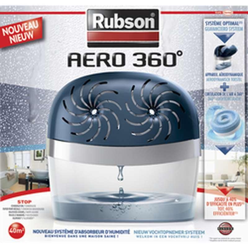 Absorbeur d'humidité Aéro 360° surface 40m2, Rubson