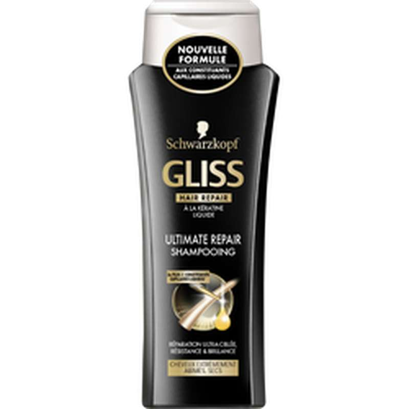 Shampoing ultimate repair, Gliss (250 ml)