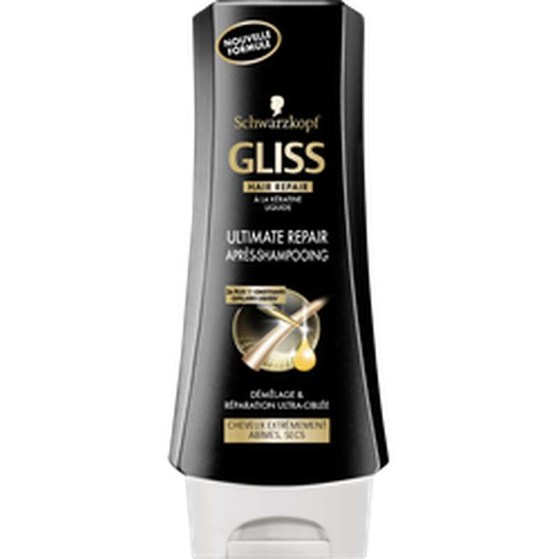 Après-shampoing ultimate Repair, Gliss   (200 ml)