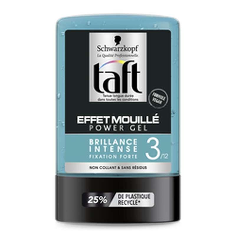 Gel coiffant tenue extra forte effet mouillé, Taft Styling (300 ml)