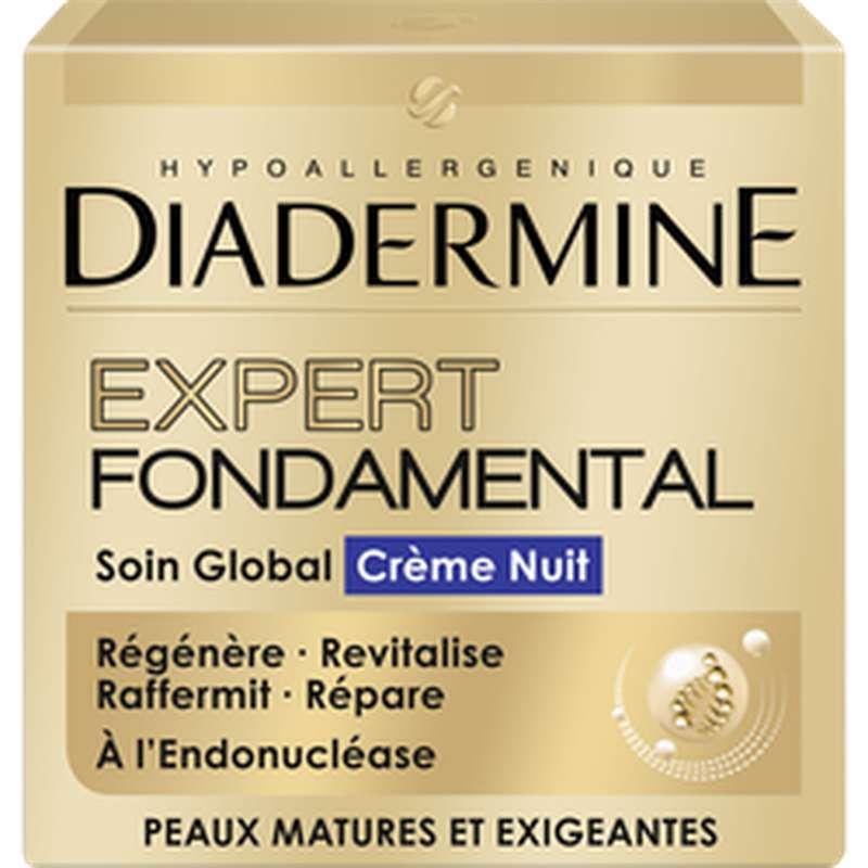 Soin crème de nuit expert fondamental, Diadermine (50 ml)