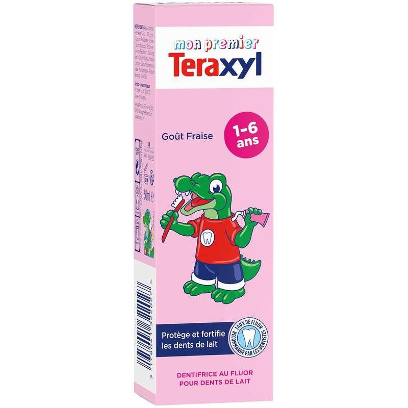 Dentifrice enfant fraise 1-6 ans, Teraxyl (50 ml)