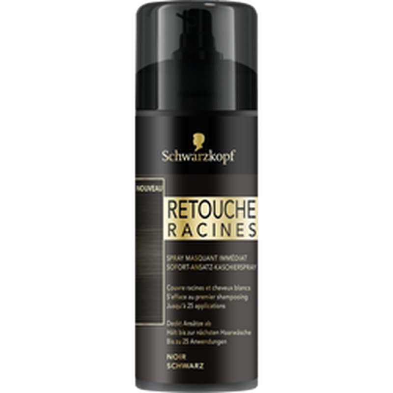 Spray retouche racines Noir, Schwarzkopf (120 ml)