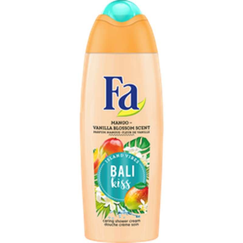 Gel douche soin Bali kiss parfum mangue et fleur de vanille, Fa (250 ml)