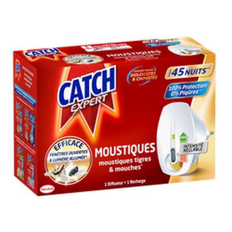 Diffuseur électrique réglable anti-moustiques et mouches, Catch (45 nuits)