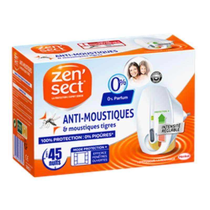 Diffuseur électrique réglable anti-moustiques, Zensect (45 nuits)