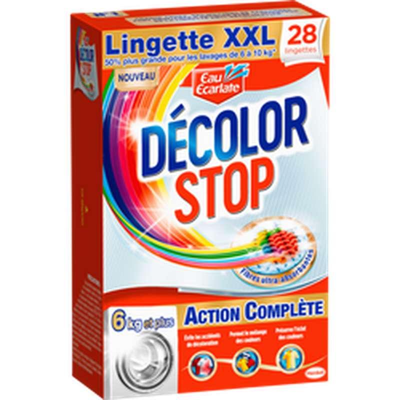 Lingettes classic xxl Decolor stop, Eau Ecarlate (x28)