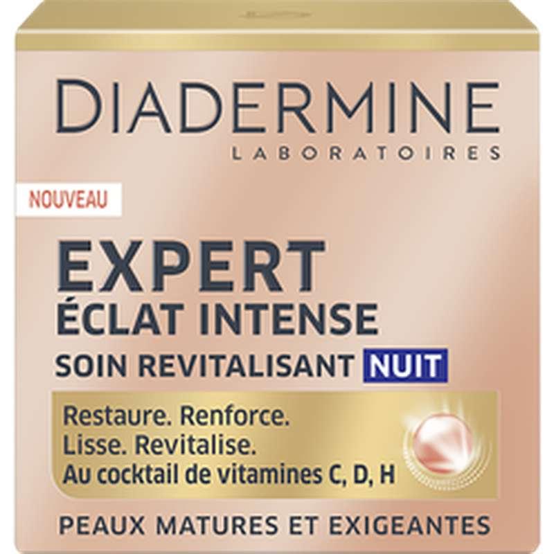 Soin nuit éclat intense peaux matures, Diadermine (50 ml)