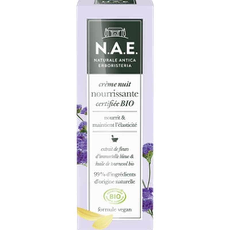 Crème de nuit nourrissante BIO, NAE (50 ml)