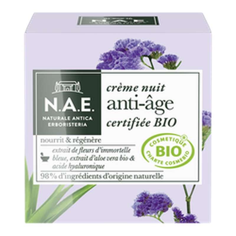 Crème de nuit anti-âge BIO, NAE (50 ml)