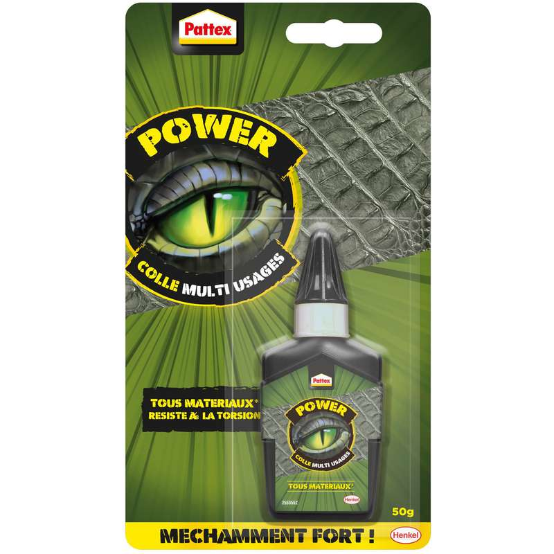 Colle multi usages power, Pattex (50 g)