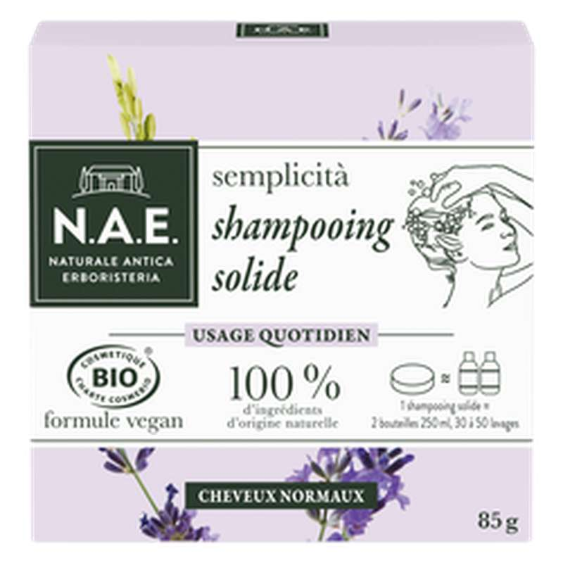 Shampooing solide BIO, NAE (85 g)