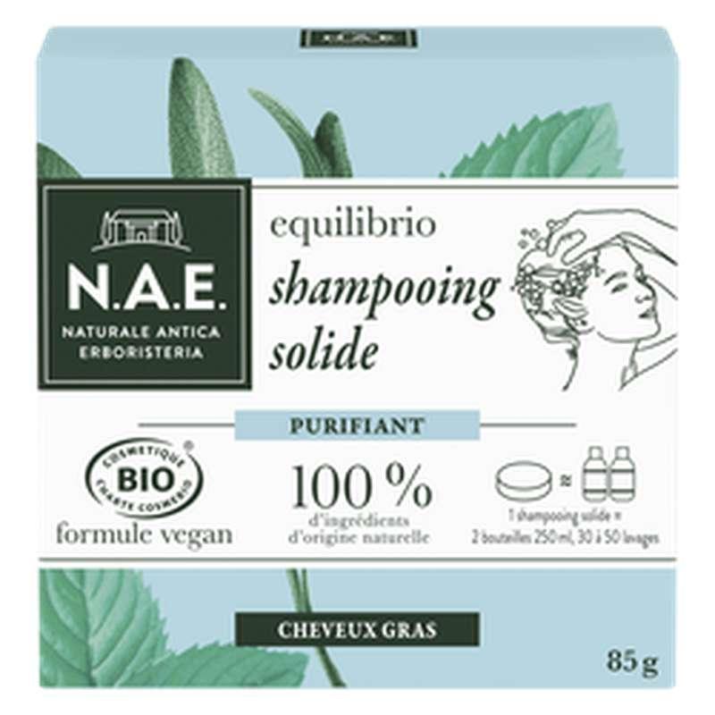 Shampoing solide purifiant BIO, NAE  (85 g)