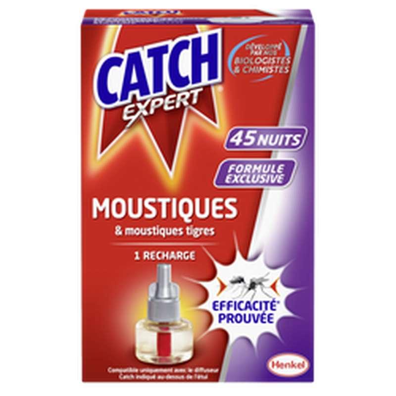 Recharge liquide pour diffuseur électrique anti-moustiques, Catch (45 nuits)