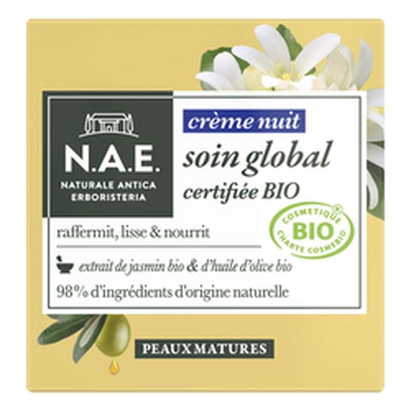 Crème de nuit peaux mature BIO, NA (50 ml)
