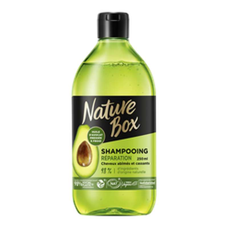 Shampoing avocat, Nature Box   (250 ml)