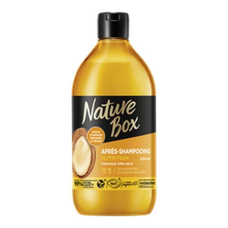 Après-shampoing argan, Nature Box (250 ml)