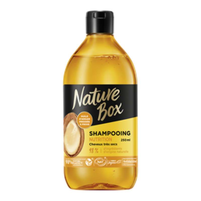 Shampoing argan, Nature Box (250 ml)