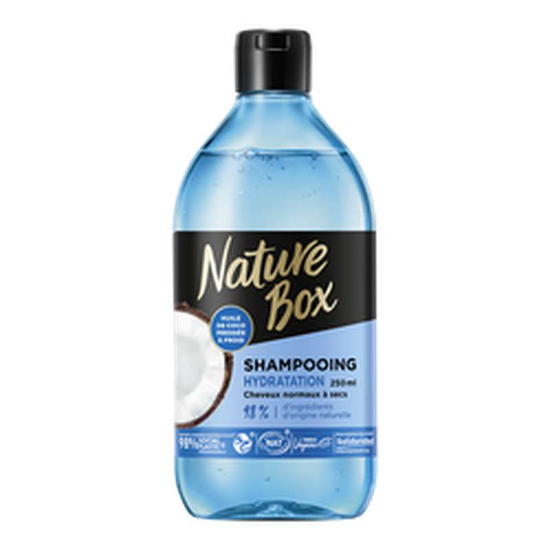 Shampoing coco, Nature Box (250 ml)