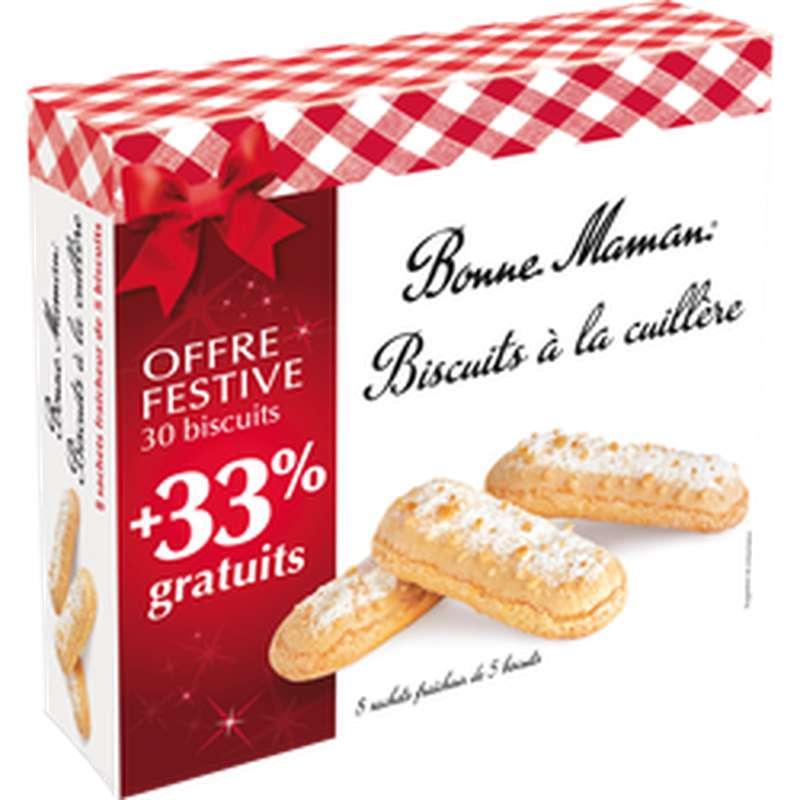 Biscuits à la cuillère, Bonne maman (250 g + 33% OFFERT)