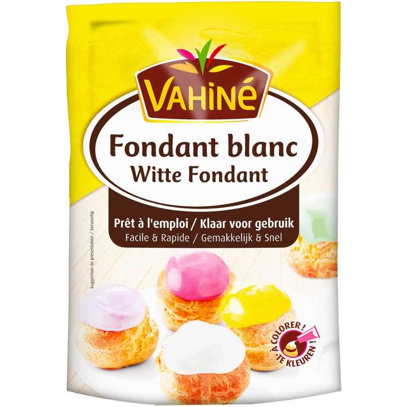 Fondant blanc prêt à l'emploi, Vahiné (125 g)