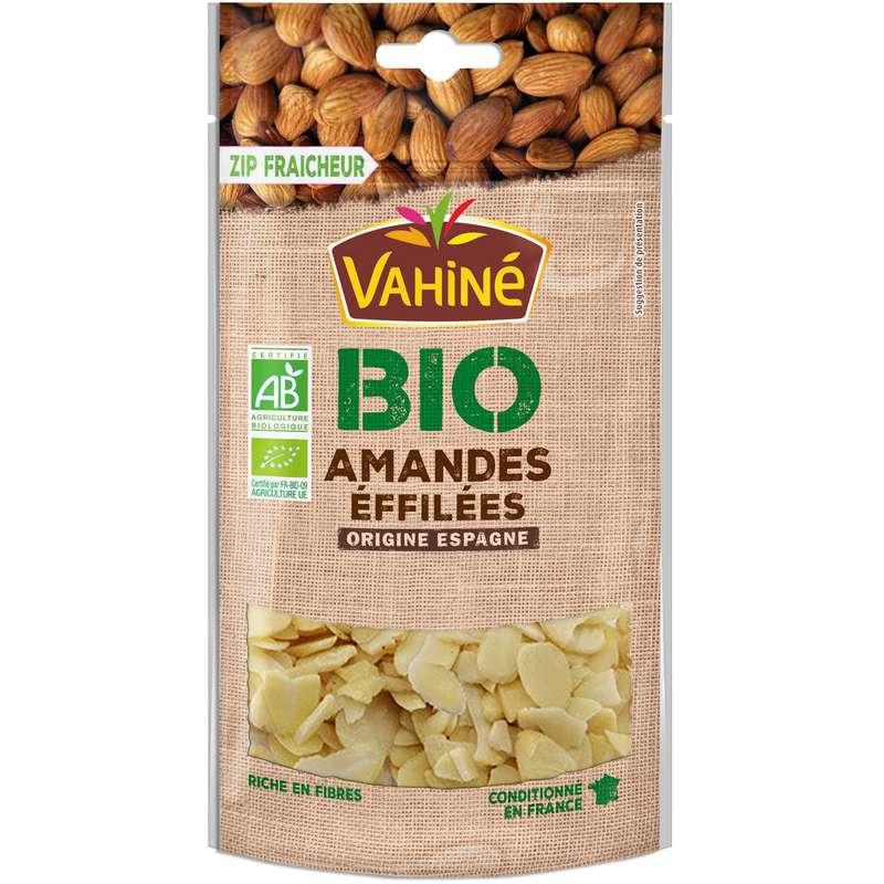 Amandes éffilées BIO, Vahiné (100 g)