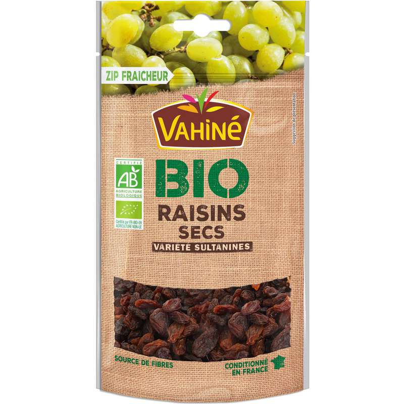 Raisins secs BIO, Vahiné (200 g)