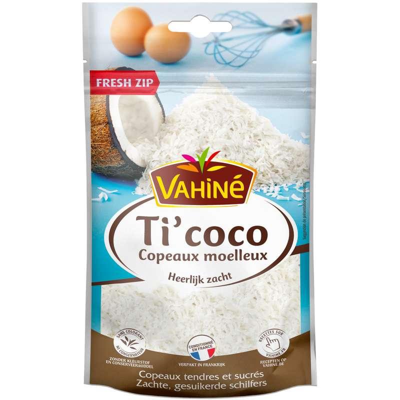 Copeaux de coco moelleux Ti'coco, Vahiné (100 g)