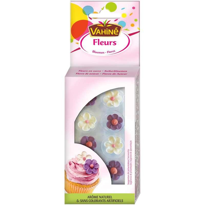 Décoration alimentaire fleurs de sucre, Vahiné (38 g)