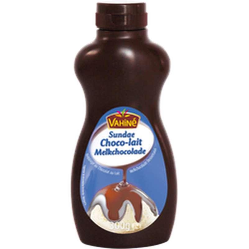 Nappage sundae chocolat au lait, Vahiné (300 g)