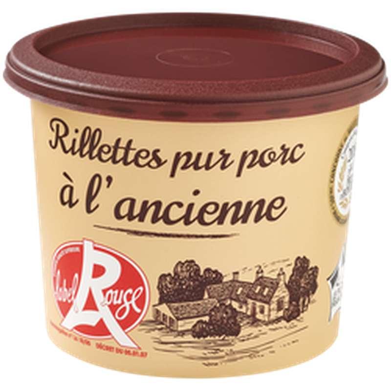Rillettes du Mans pur porc à l'ancienne Label Rouge, Bahier (220 g)