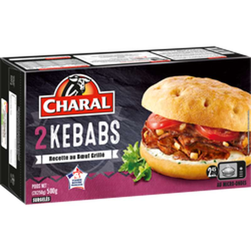 Kebab Micro-One, Charal (x 2, 250 g)